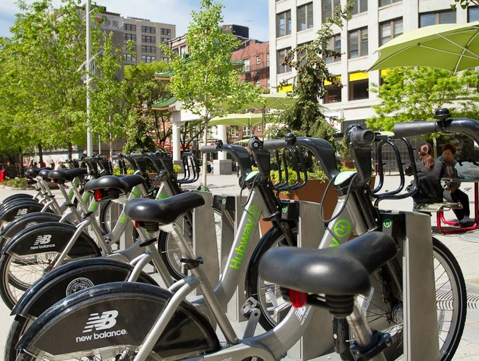 The Hubway Boston Massachusetts United States