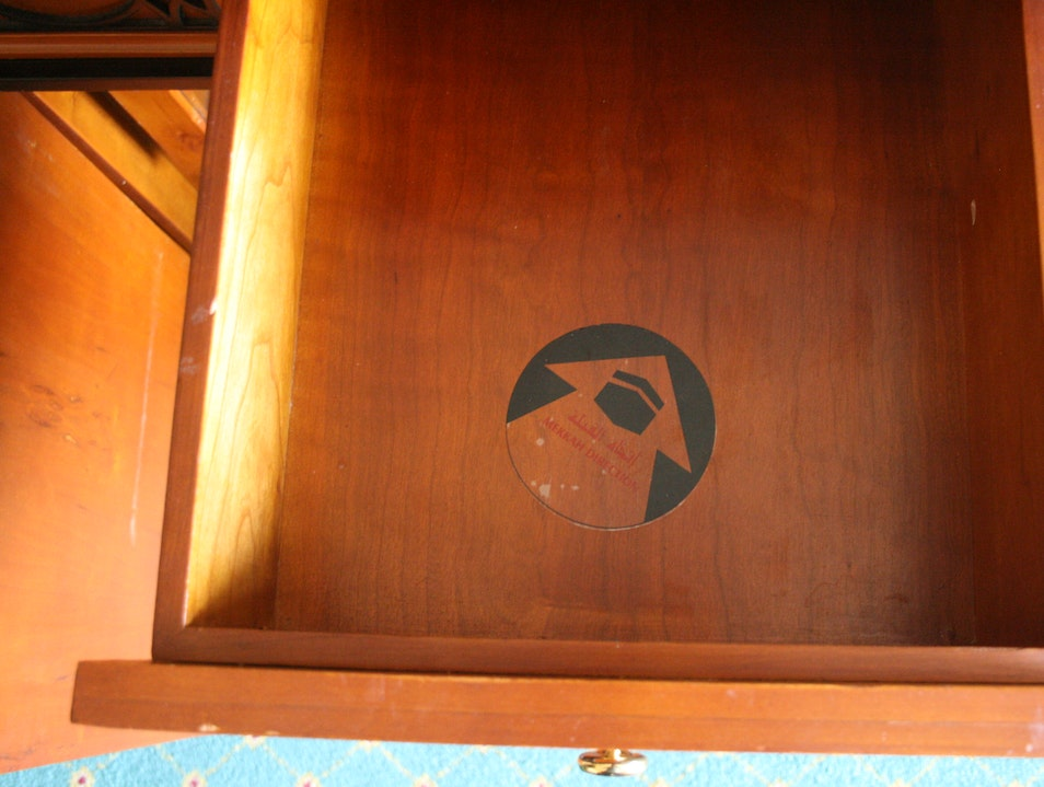 The Religious Importance of Hotel Drawers