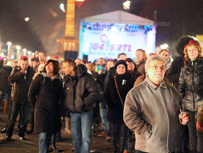 New Year's Eve in Berlin: Silvester