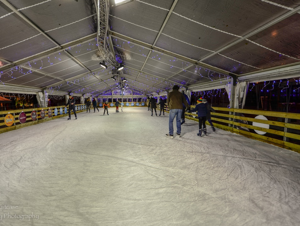 Ice skating in Leuven Leuven  Belgium