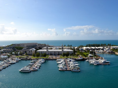 Royal Naval Dockyard Ferry Stop  Bermuda