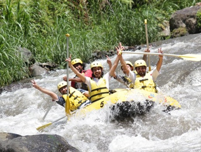 White-Water Rafting in Bali