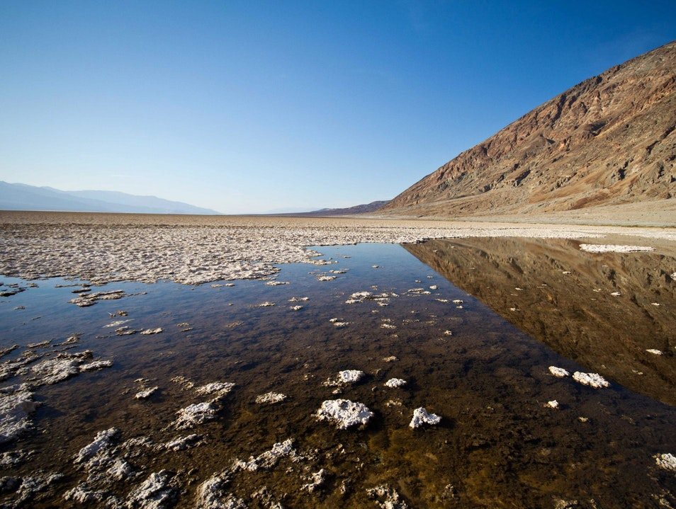 The lowest of the low Badwater California United States
