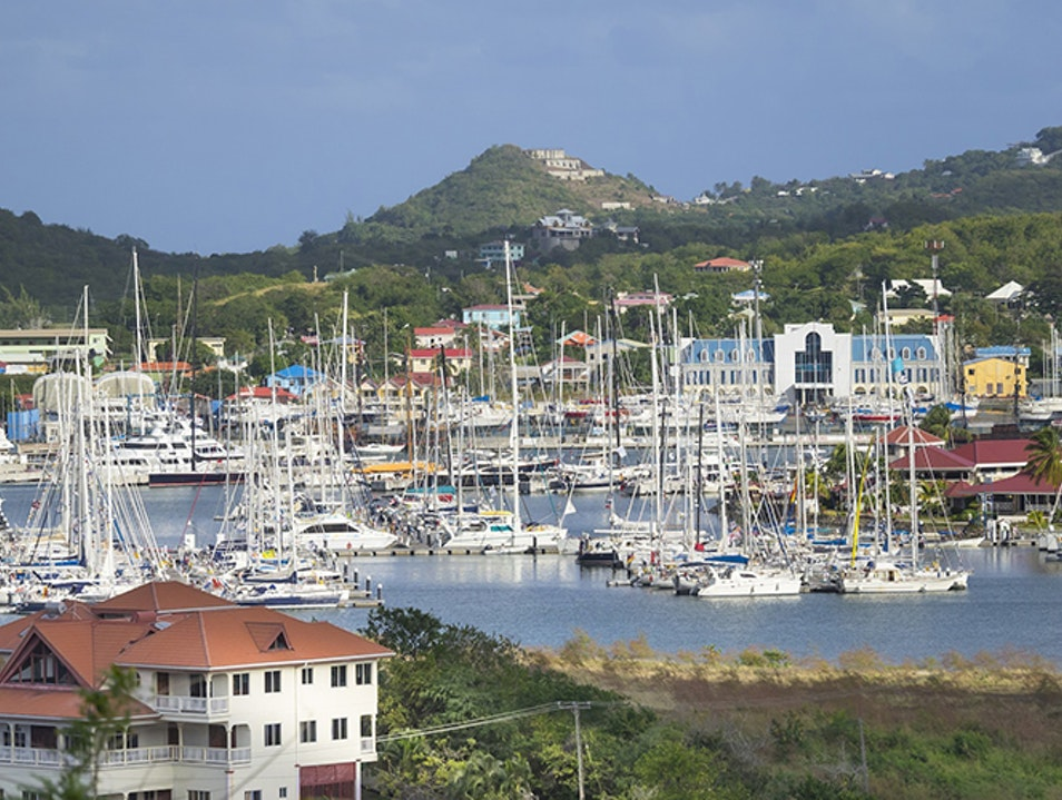 Chilling Out at Rodney Bay Marina Gros Islet  Saint Lucia