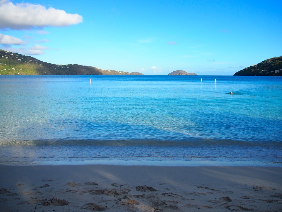 Early-Morning Exercise on Magens Bay, St. Thomas