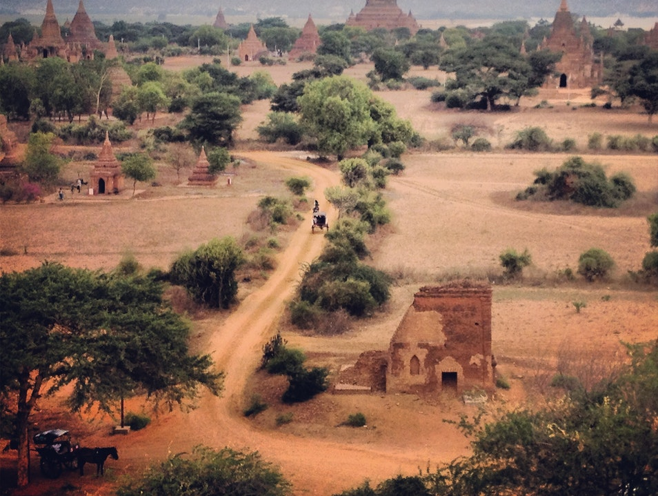 Bagan -- The Typical and Extrodinary  Myingyan  Myanmar