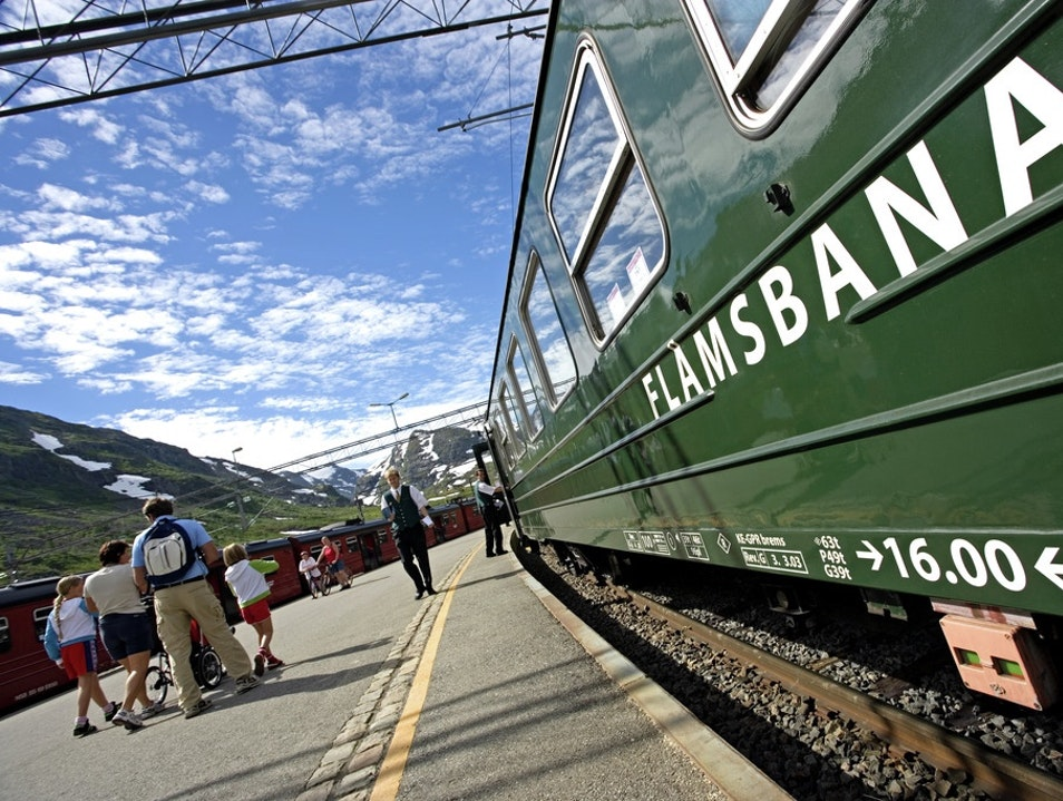 By Rail  Aurland  Norway