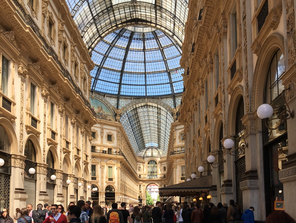 Stroll in the Galleria Milan  Italy