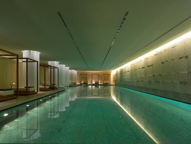 Spend Some Time in the Bulgari Spa