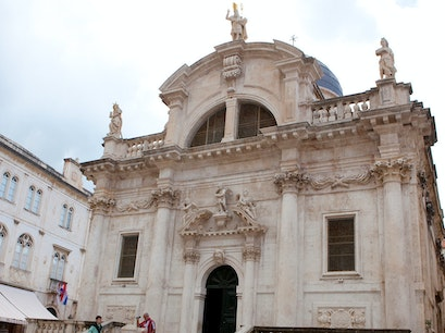 Church of St. Blaise Dubrovnik  Croatia