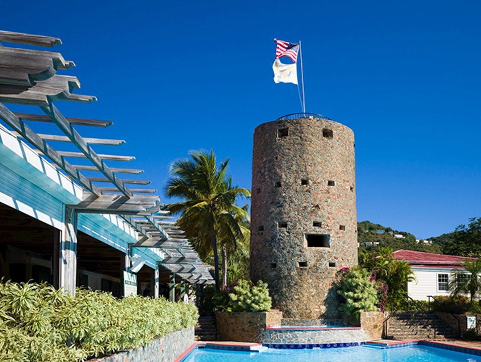 Blackbeard's Castle and the 99 Steps Charlotte Amalie  United States Virgin Islands