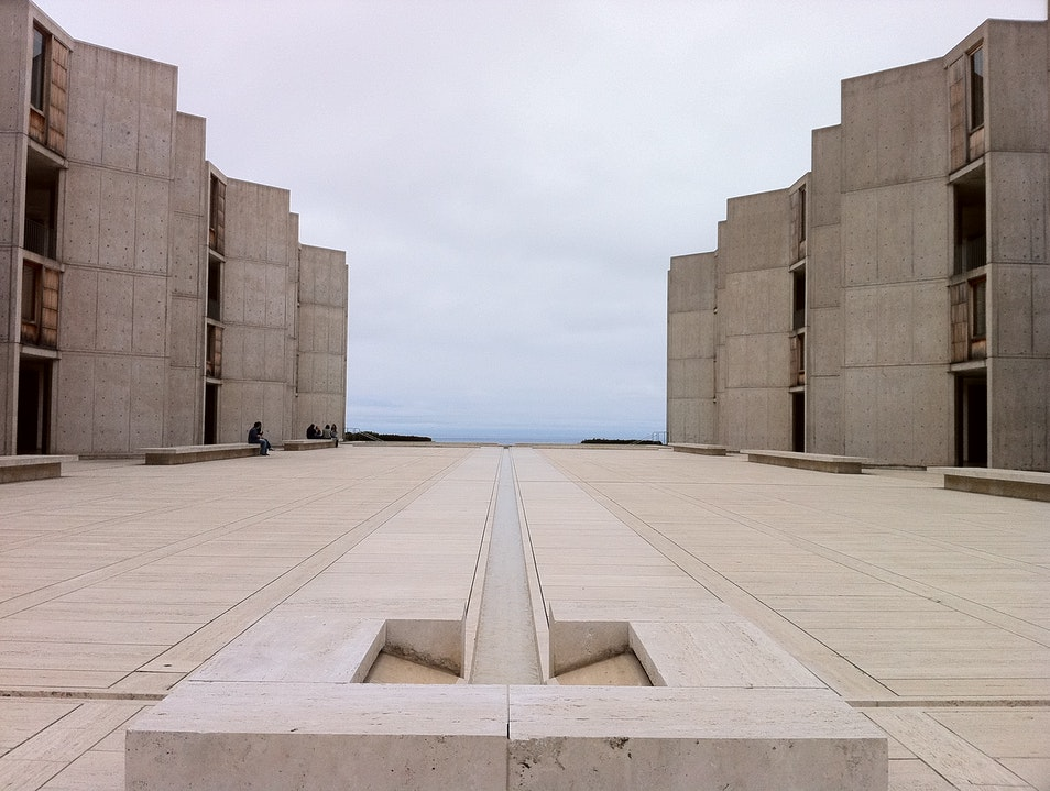A Louis Kahn miracle by the ocean San Diego California United States