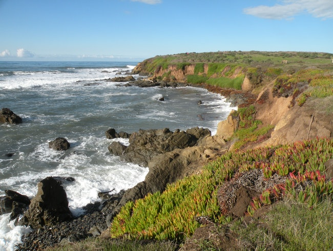 Beautiful hiking in Cambria, California