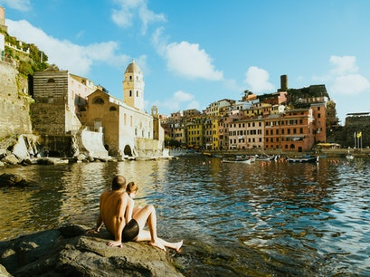 Port of Vernazza Vernazza  Italy