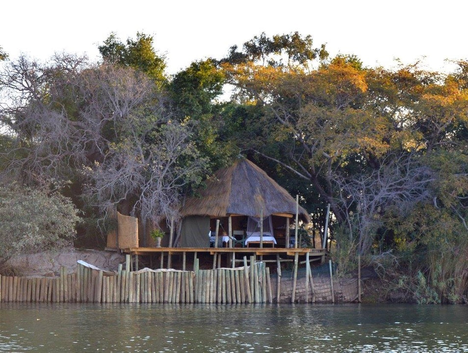 The Coolest Campsite in the Caprivi Strip Kavango  Namibia