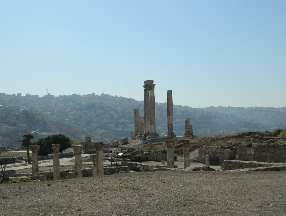 Discover the Roots of the City at the Citadel Amman  Jordan
