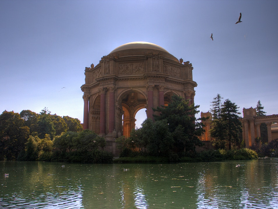 The Palace of Fine Arts San Francisco California United States