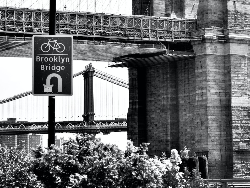 Can You Hear Me Now? Under the Brooklyn Bridge New York New York United States
