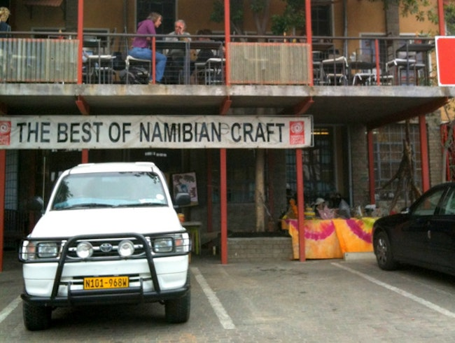 Shopping for Handmade Souvenirs in Windhoek