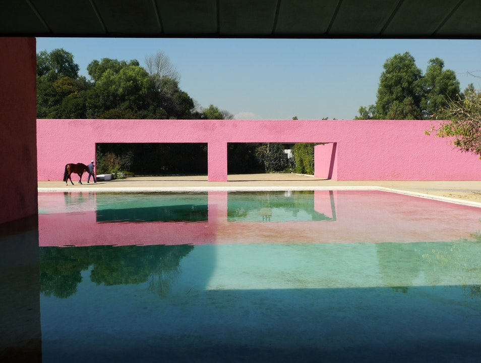 Tour of Luis Barragán Architectural Sites Mexico City  Mexico