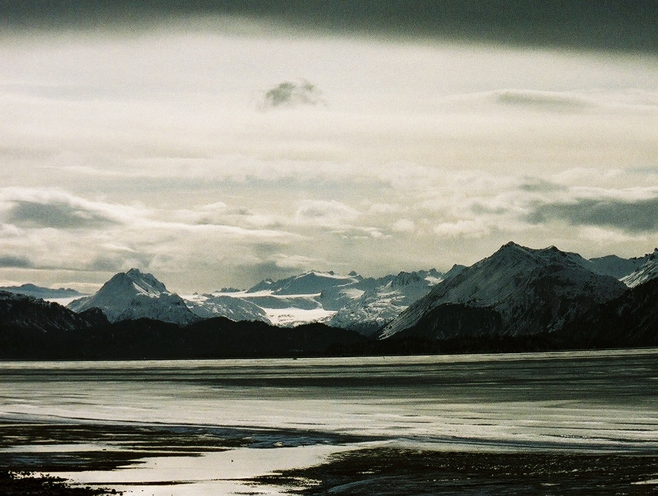 Kachemak Bay, Grewingk Glacier and the Chugach Mountains