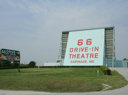 66 Drive-In Theatre Carthage Missouri United States
