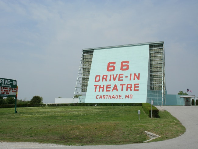 Drive-In Theater on Rt. 66