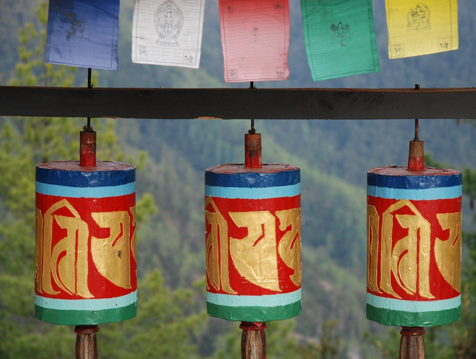 Holy Respite Below Tiger's Nest Paro  Bhutan