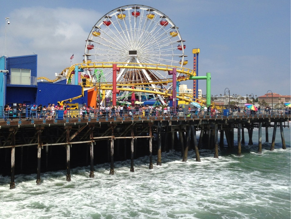 Santa Monica Pier Los Angeles California United States