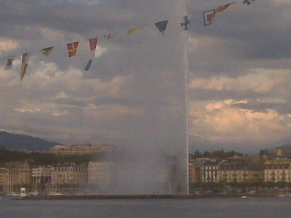 The Geneva Water Fountain Genève  Switzerland