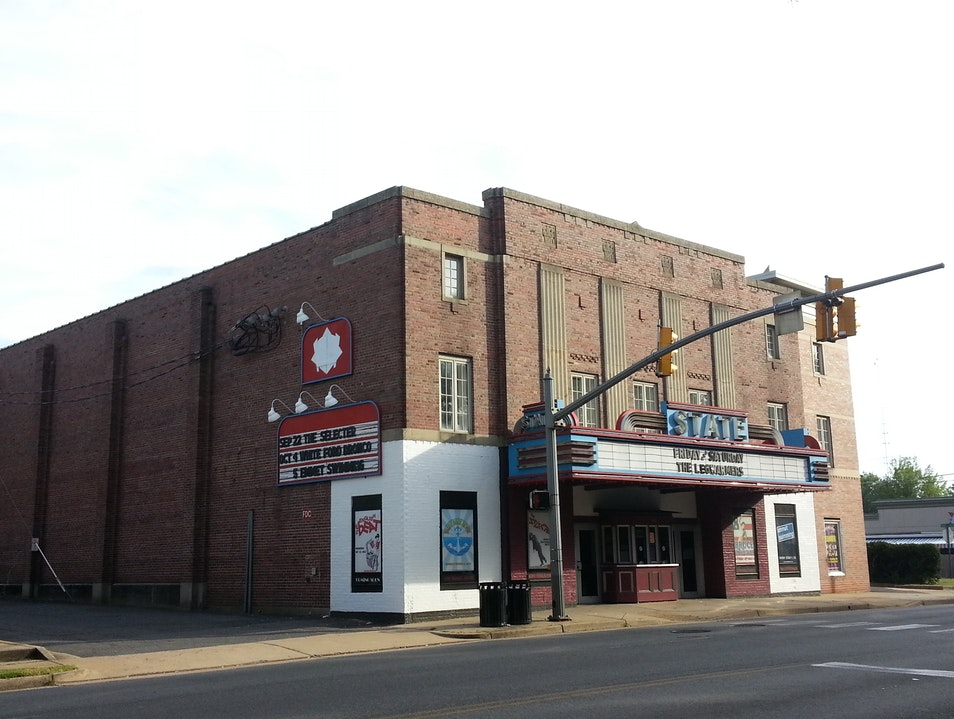 The State Theatre: Movie House Turned Live Music Venue Falls Church Virginia United States