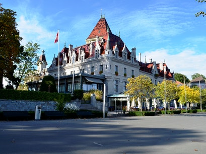 Château d'Ouchy Lausanne  Switzerland