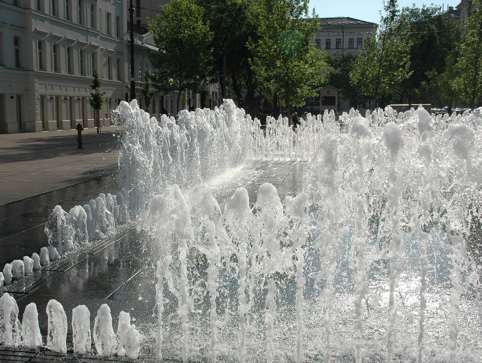 Interactive Fountain Budapest  Hungary