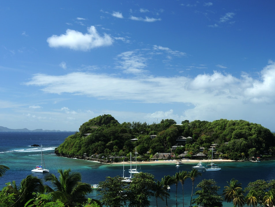 Young Island Beach Arnos Vale  Saint Vincent and the Grenadines