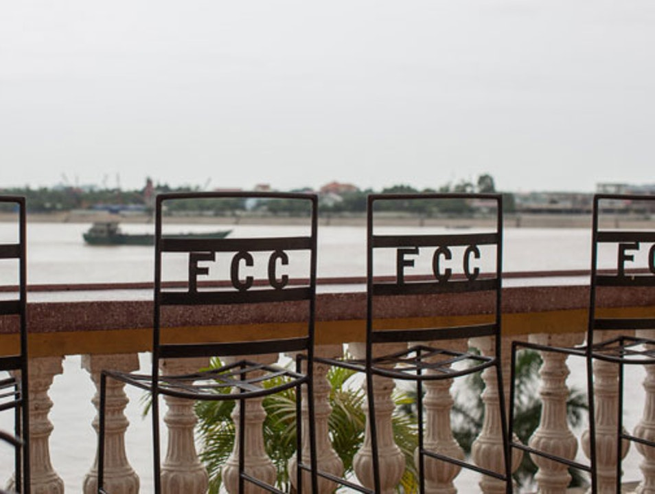 FCC offers the best views & photography exhibits រាជធានីភ្នំពេញ  Cambodia