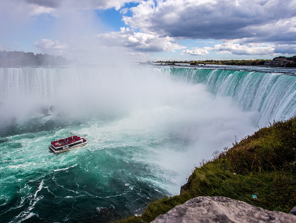 The Falls From the Canadian Side   Canada
