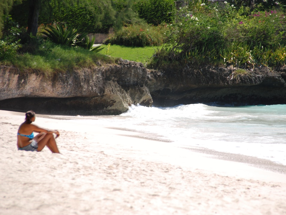 Hastings Rock Beach Bridgetown  Barbados