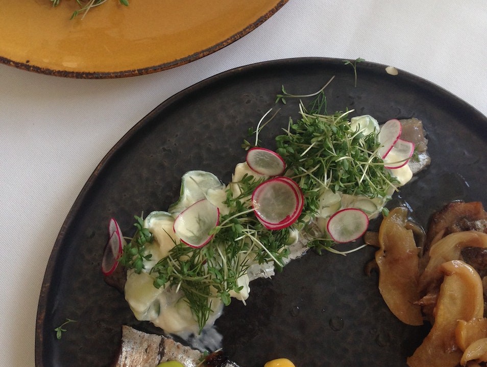 Chic Cuisine by a Canal
