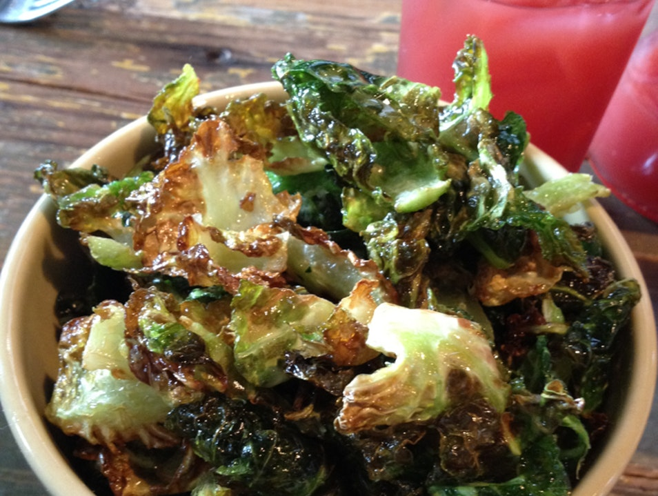 Fried Brussel Sprouts...you'll love vegetables this way! San Francisco California United States