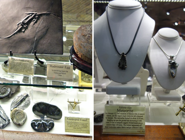 Meteorites and more at this unique store