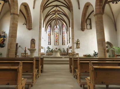 Church of the Holy Cross Landau In Der Pfalz  Germany