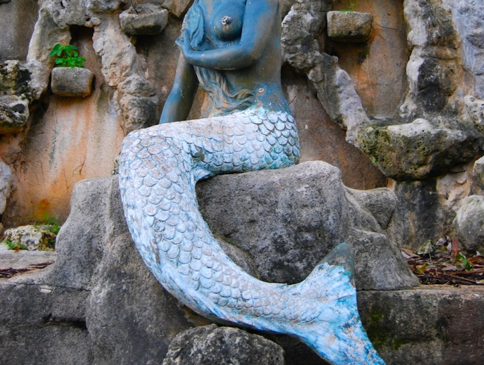 Visit the Statue of Sirena the Mermaid