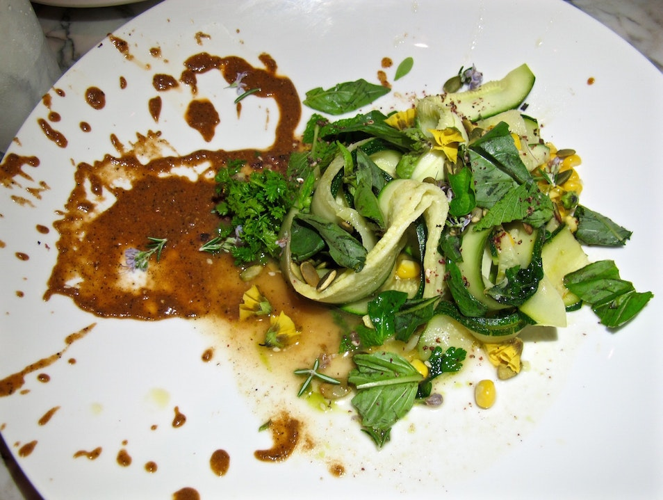 Vegan Dining at Plant Food and Wine on Abbot Kinney in Venice