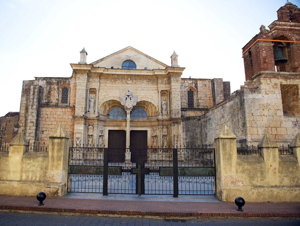 Visit the oldest church in the New World Santo Domingo  Dominican Republic