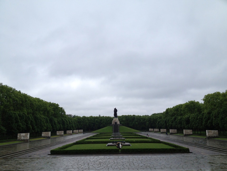 Soviet War Memorial Berlin  Germany