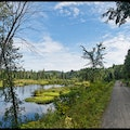 P'tit Train du Nord Cycle Trail Saint Jérôme  Canada