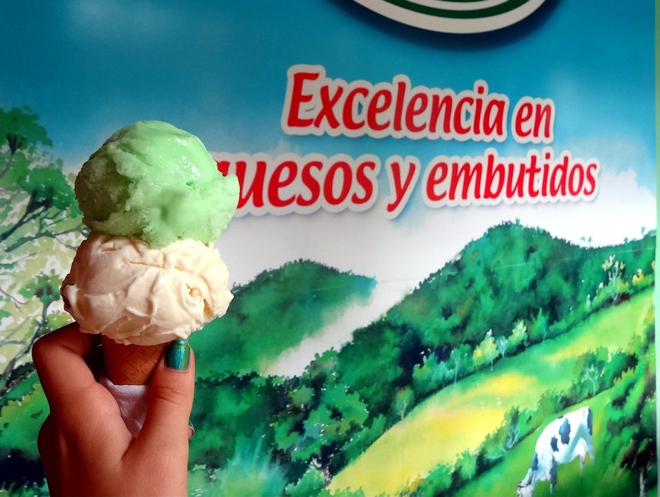 Ice Cream at Monteverde Cheese Factory