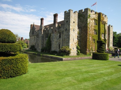 Hever Castle and Gardens Hever  United Kingdom