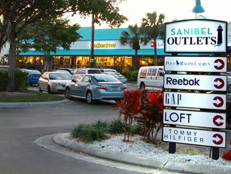 Sanibel Outlets  Fort Myers Florida United States