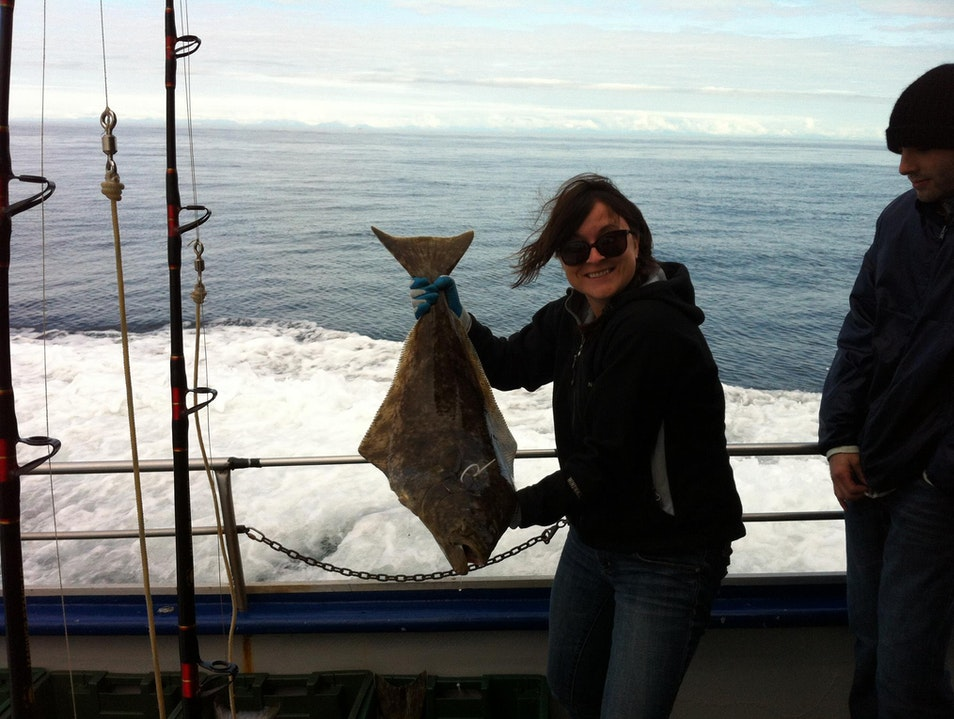 A vegan goes fishing Homer Alaska United States